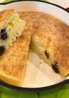 スキレットとオーブンで、極厚パンケーキ♪