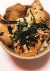 鶏ムネチャーシュー丼(親子丼!?)