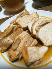 炊飯器で簡単★むね肉チャーシューの写真