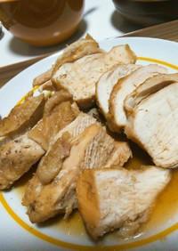炊飯器で簡単★むね肉チャーシュー