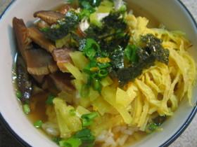 奄美の鶏飯~お茶漬け風♪