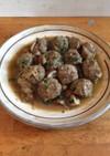 ラム肉のミートボール、ブランデー風味