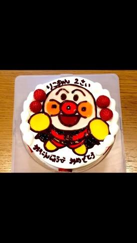 アンパンマンケーキ☆キャラクターケーキ