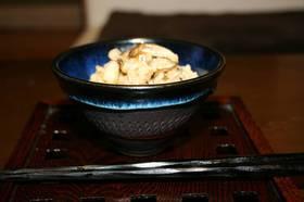 松茸ご飯風エリンギご飯