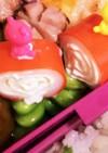 チーズカニカマと枝豆ピック★