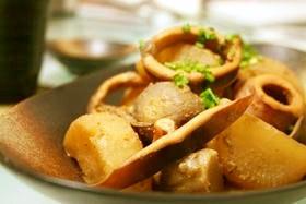 味付はお味噌だけ!いかと大根と里芋の煮物