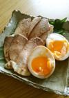 フライパン1つの簡単煮豚&とろ~り味玉