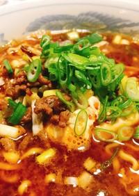 マルちゃん正麺deピリ辛肉味噌ラーメン