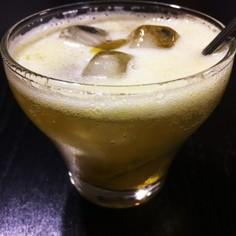 すぐに飲める梅ジュース〜レンジで〜