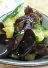 中華の前菜《きゅうりと黒木耳のあえもの》
