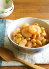 ☆お弁当やおつまみに☆えびと大豆の旨煮