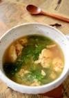 レタスと卵の中華スープ♪