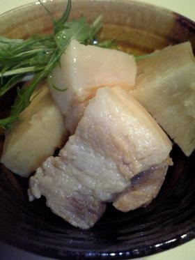 海老芋と塩豚のさっぱり煮