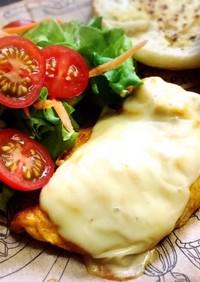 ☆鶏胸肉のカレーマヨ漬け焼きonチーズ☆