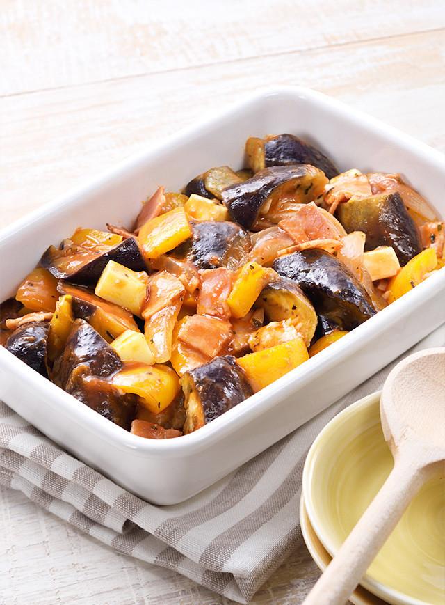 野菜ジュースで簡単♪作り置きラタトゥイユ