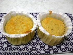 バナナカップケーキ