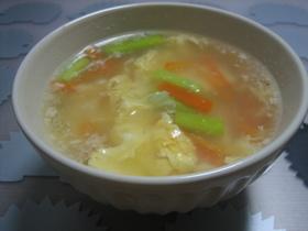 卵&豆腐の簡単中華スープ☆
