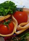 お弁当☆プチトマトハム:レオン亭