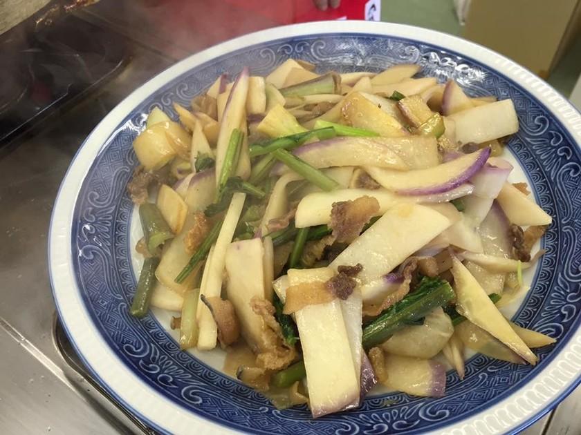 大平蕪と鯨の煮物(高知県越知町の郷土食)