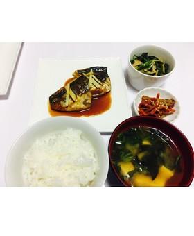 簡単!鯖の味噌煮