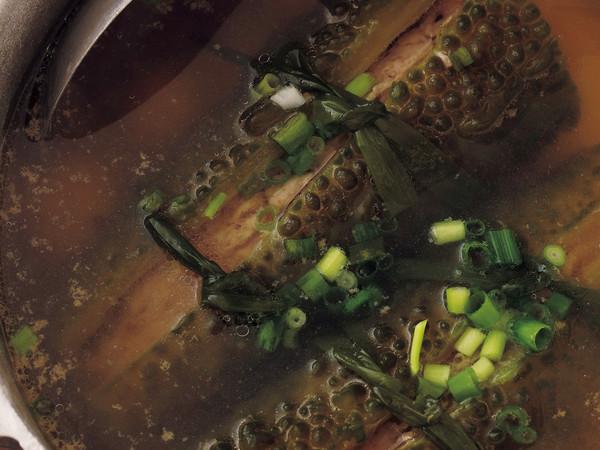 肉詰めゴーヤのスープ煮