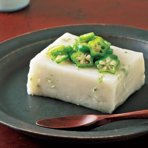 オクラごま豆腐