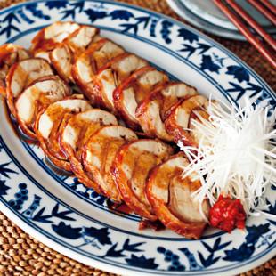 豆腐の肉巻チャーシュウ