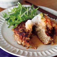 ポン酢おろし豆腐ハンバーグ