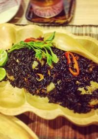 黒米のタイハーブ炒飯♡