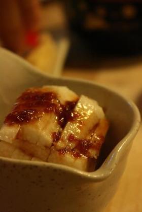 長芋の梅肉ゴマだれ