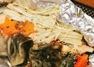 塩鮭のホイル焼きガーリックバター味
