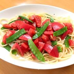 めっちゃ簡単!トマトの冷製パスタ☆