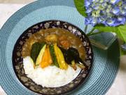 ☆素揚げ野菜のっけレインボーカレー☆の写真