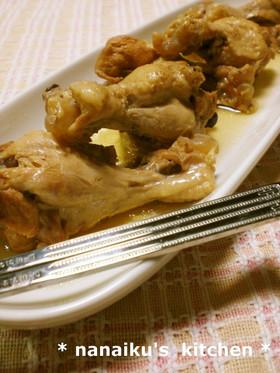 圧力鍋で♡鶏のさっぱりやわらか煮