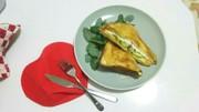 贅沢すぎる☆美味しい朝食トーストサンドの写真