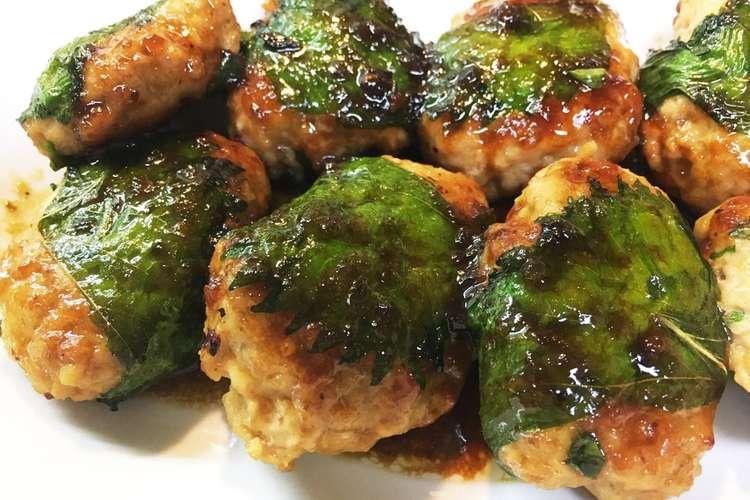 鶏 つくね しそ 【みんなが作ってる】 鶏つくね 大葉のレシピ