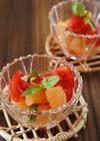 トマトとグレープフルーツのサラダ
