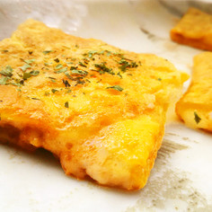 イタリアンパスタソースとチーズの卵巻焼