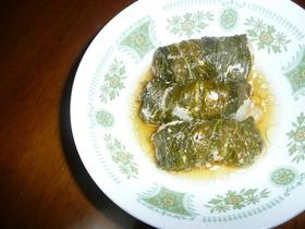 豚肉とチンゲンサイのロール巻きスープ煮