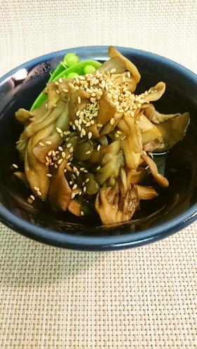 舞茸のピリ辛ポン酢炒め