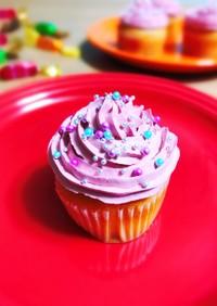 ホイップマリーム デコカップケーキ