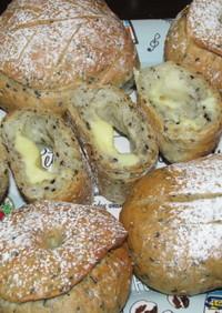 チーズクッペ☆シャンピニオン♪ハードパン