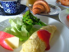 朝食☆コーンビーフポテトオムレツ
