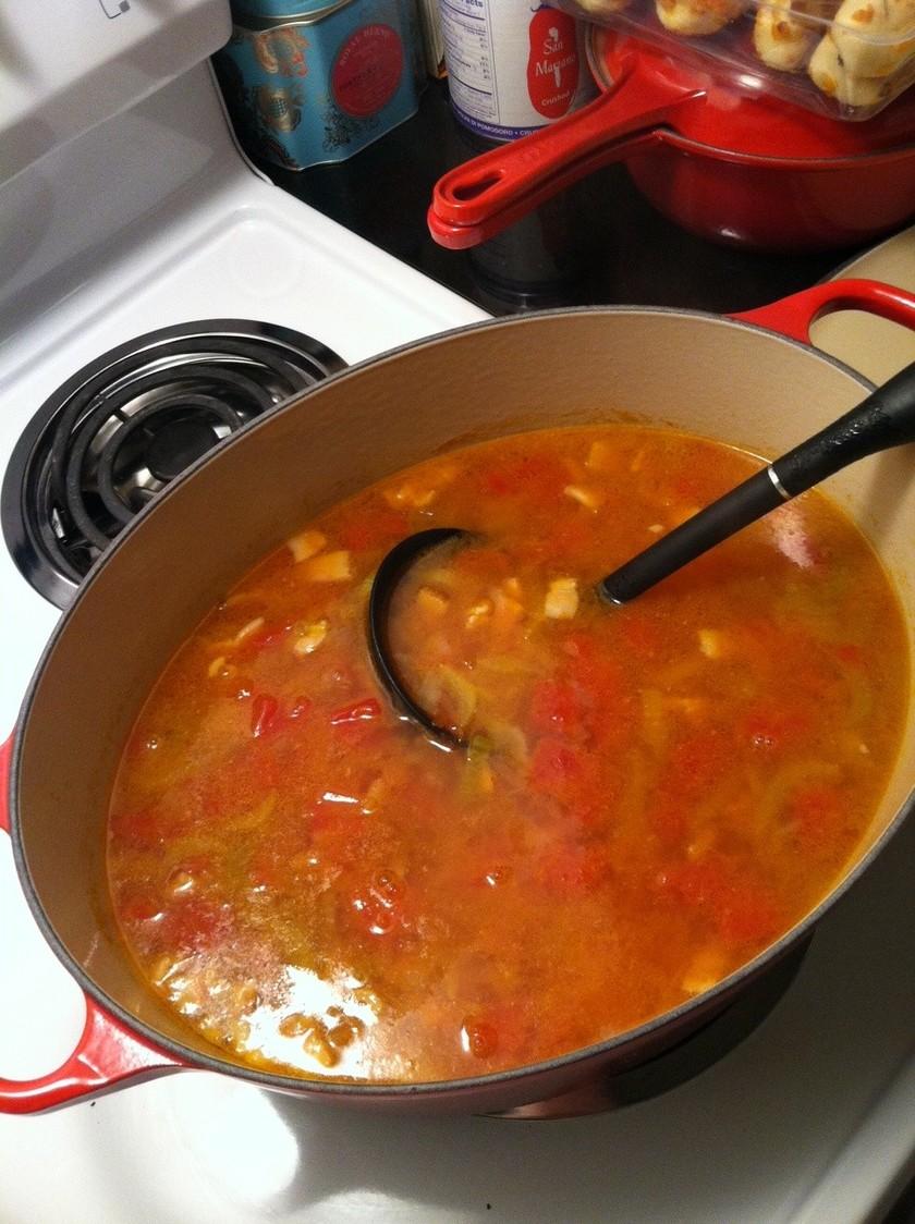 リボリータ・野菜スープ