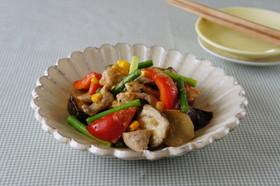 豚肉と夏野菜の味噌炒め