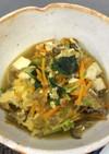 挽肉と豆腐の卵とじ<やよい会>