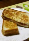 卵焼き器☆ハムとチーズのホットサンド
