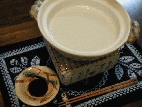 大豆から作る湯葉
