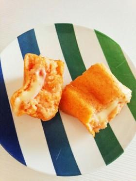 子供大好き☆長いもトマトのフワフワチーズ
