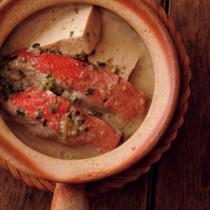 魚のココナッツミルク煮こしょうとレモングラス風味